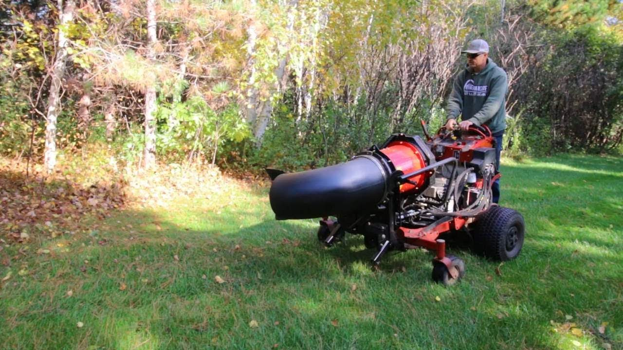 Toro Grandstand Multiforce With Pro Force Leaf Blower