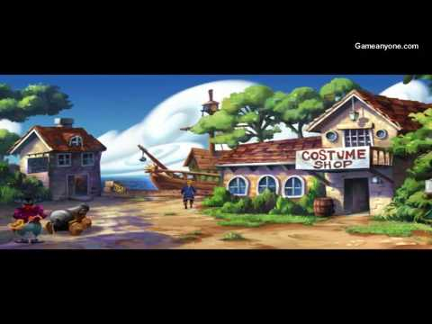The Secret Of Monkey Island 2 Special Edition   Four Map Pieces 9 13  