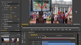 Картинка в картинке в Adobe Premiere Pro