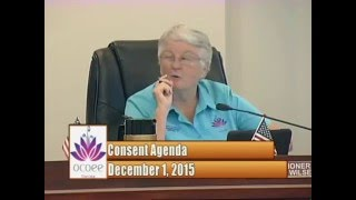 City of Ocoee Commission Meeting 12.1.15