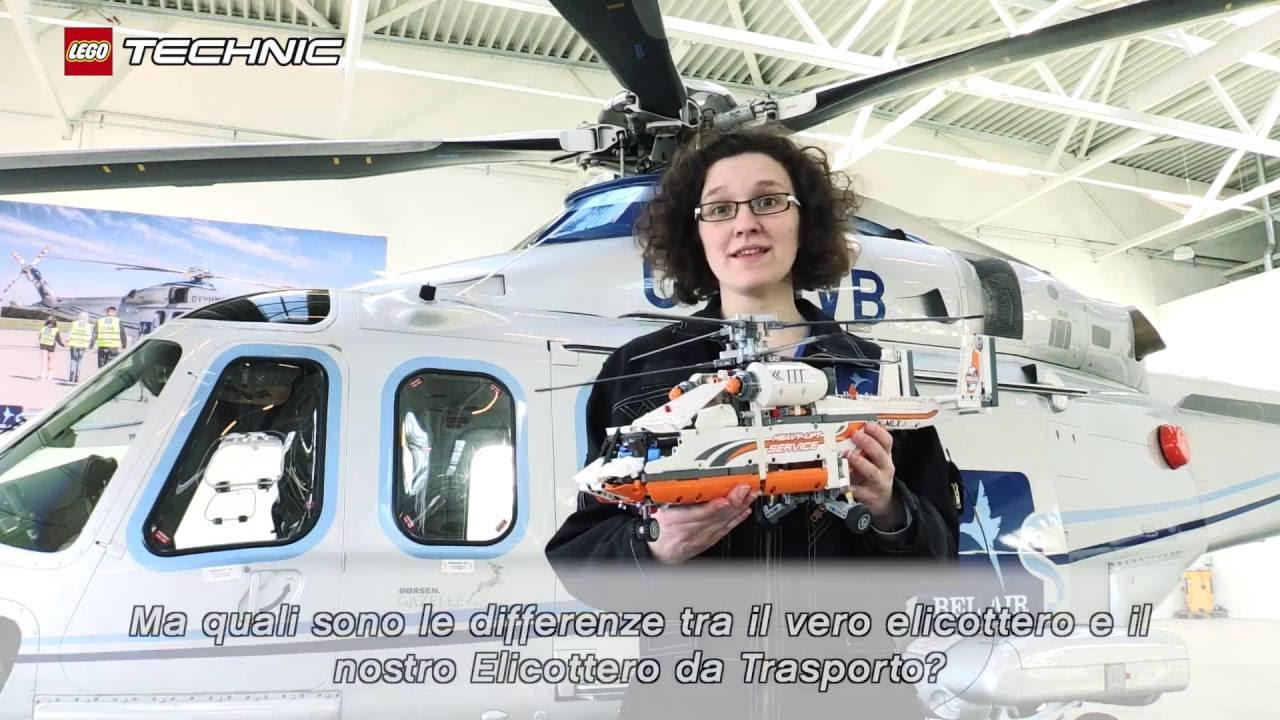 Elicottero Hot Wheels : Lego technic u elicottero da carico sfida youtube