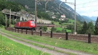 Trains In Landscape thumbnail