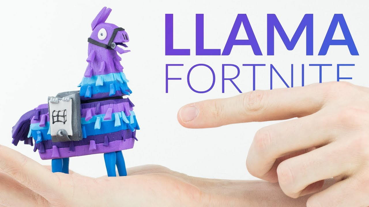 Supply Llama Chest Fortnite Battle Royale Polymer Clay Tutorial