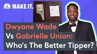 Dwyane Wade Vs Gabrielle Union: Who's The Better Tipper?