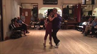 Tango Lesson: The Standard Forward Volcada