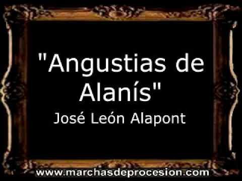 Angustias de Alanís - José León Alapont [BM]