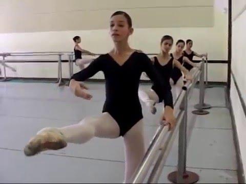 Laura Domingo Aguero y Fernando Alonso.  Escuela Nacional de Ballet de Cuba