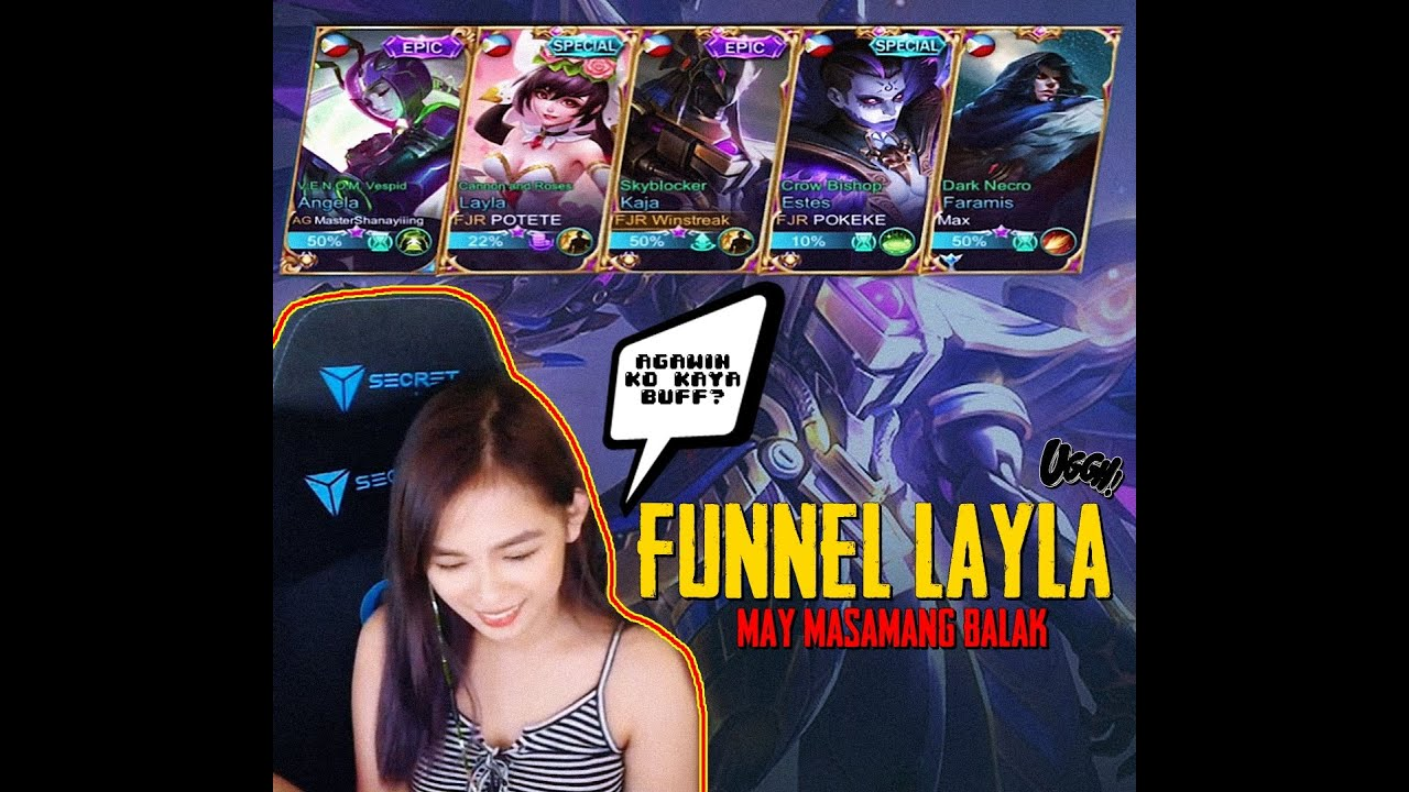 FULL SUPPORT, LAYLA FUNNEL!