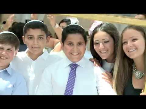 Ben's Bar Mitzvah In Jerusalem, Israel   July 27, 2015