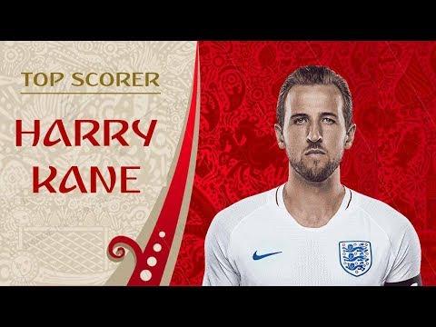 HARRY KANE : WORLD CUP 2018 GOLDEN BOOT (ALL GOALS)