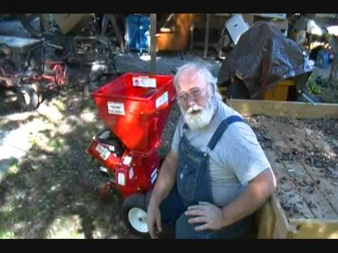 Harbor Freight Mulcher Review and Modifications