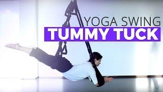 Aerial Yoga Tummy Tuck Tutorial on the Omni Yoga Swing
