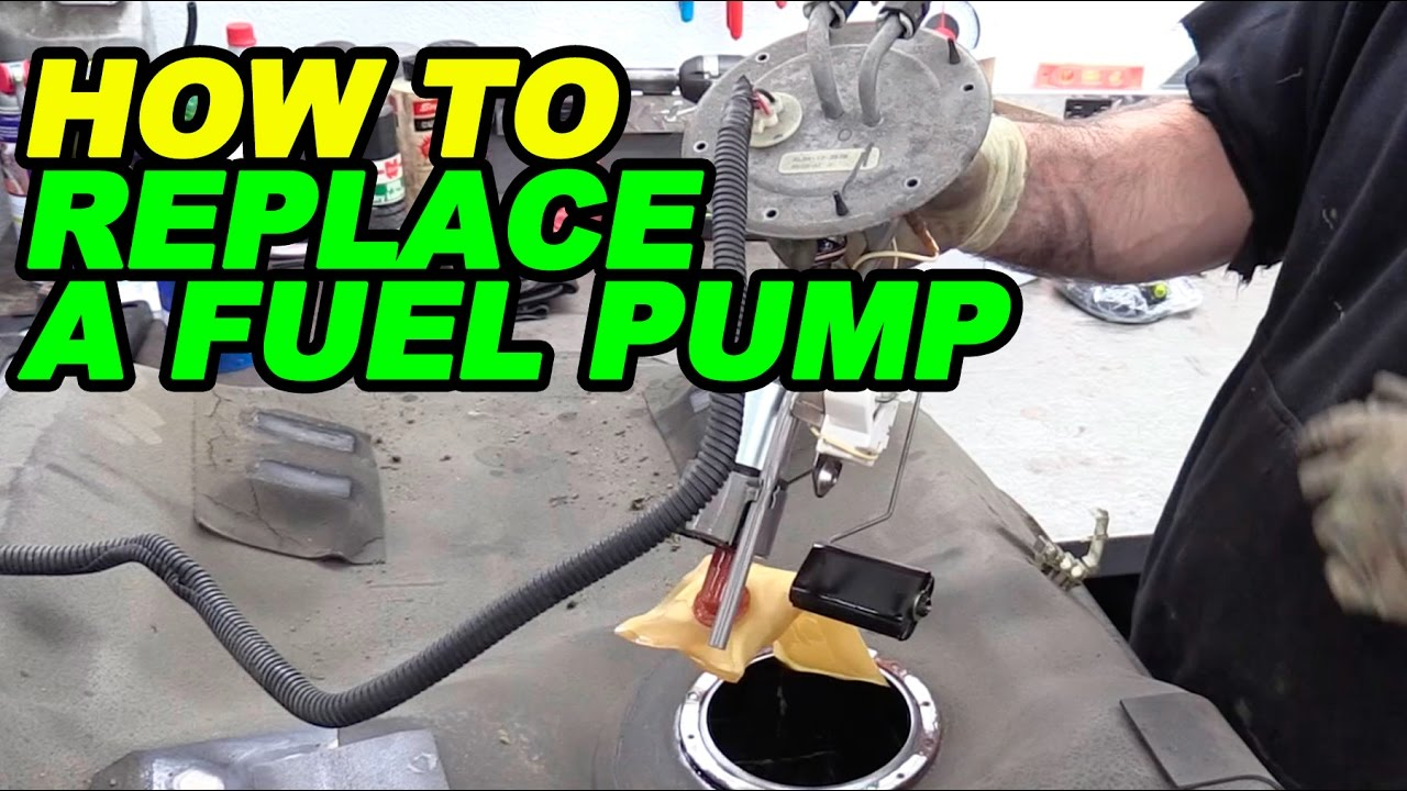 I Fuse Box Diagram How To Replace A Fuel Pump Youtube