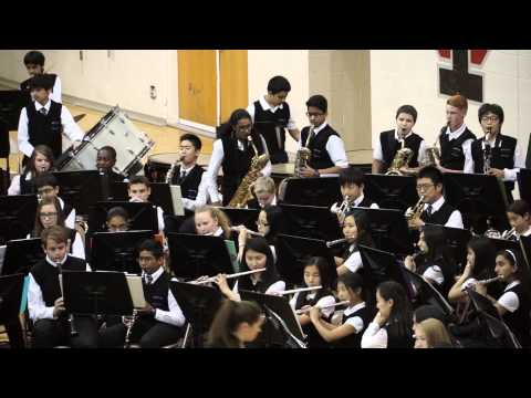Pop Culture, Robert Sheldon - Boulan Park MS 7th & 8th Grade Bands, 4/30/15