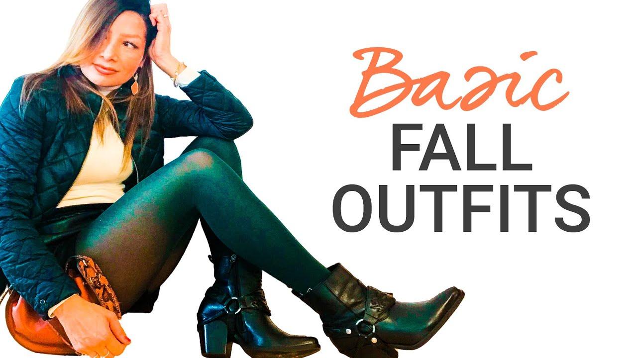 Outfit Ideas Fall 2019 | Autumn Fashion Lookbook | natashagibson
