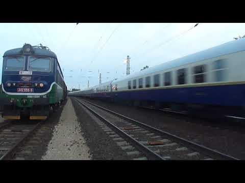 Golden Eagle Danube express halad át Abonyon. 2017.09.09.