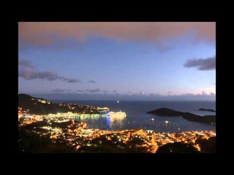 Virgin Islands Cruise Ship Timelapse