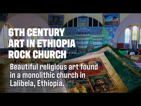 Religious Art Discovered in Rock Cut Ethiopian Church!