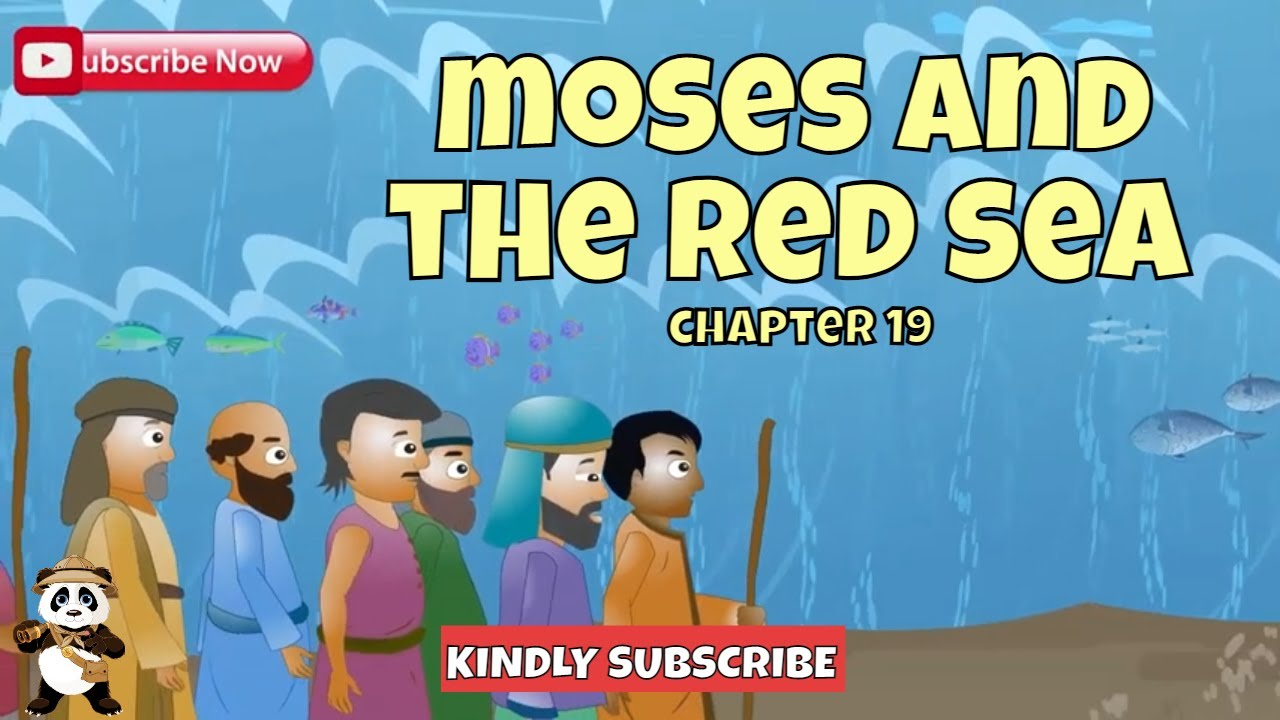 Download Moses And The Israelites Crossing The Red Sea   Bible Stories For Kids   Cartoons For Kids