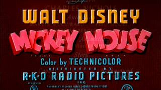 "Mickey Mouse - ""The Simple Things"" (1953) - recreation titles (reloaded)"