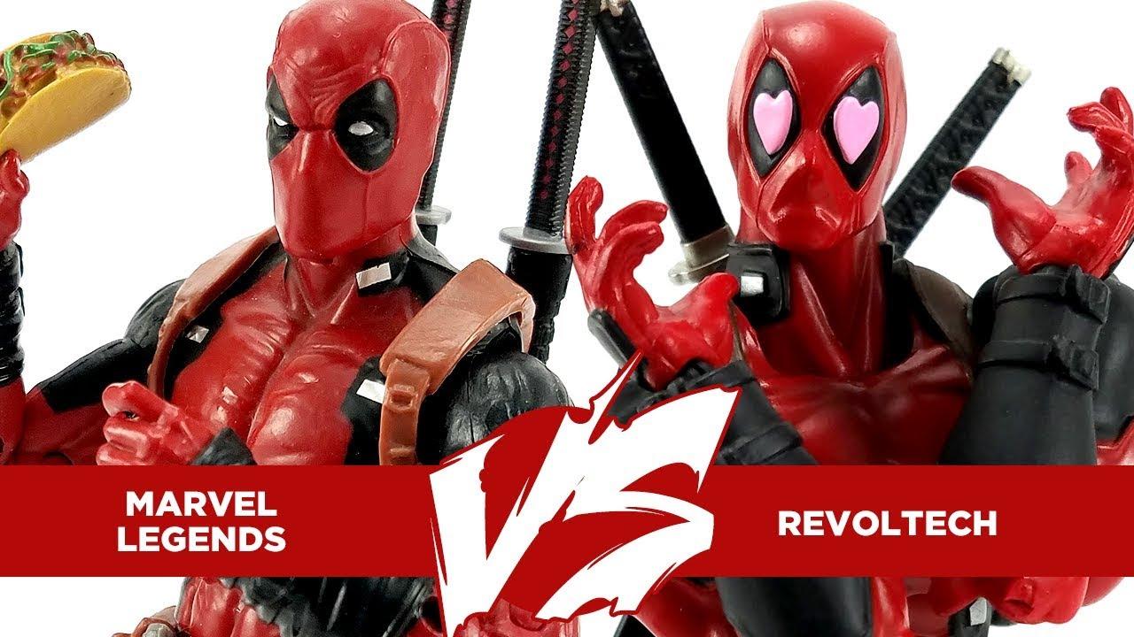Kaiyodo Revoltech Amazing Yamaguchi Deadpool Action Figure X-Men Toy New