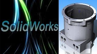 SolidWorks. Корпус. Модель по чертежу от подписчика (Урок 6) / Уроки SolidWorks