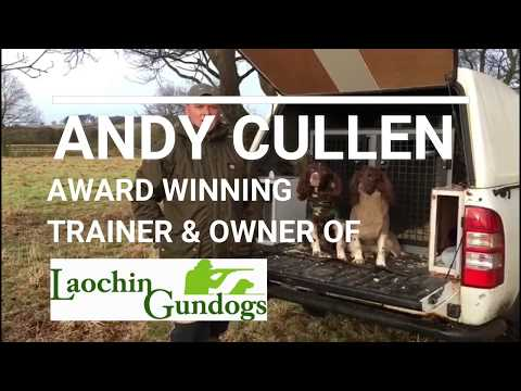 Andy Cullen, Award Winning Trainer Reviews Siccaro Supreme Pro and Spirit dog drying jackets