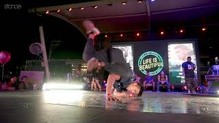 Nico vs. Ali - Finał 1vs1 na Life is Beautiful 2018: B-boy Showdown