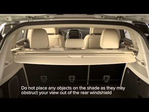Using the Cargo Shade - MKC | Lincoln How-to Video
