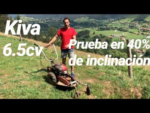 Demostración Desbrozadora De Ruedas Kiva