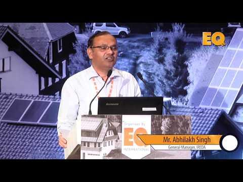 Mr. Abhilakh Singh, General Manager, IREDA at Suryacon Hyderabad