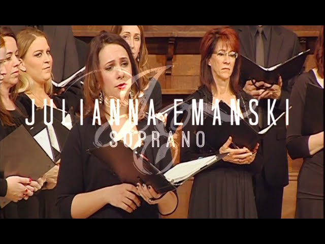 """Agnus Dei, Marcel Tyberg """"Messe in Sol Maggiore"""" (world premiere)  - Julianna Emanski soloist"""