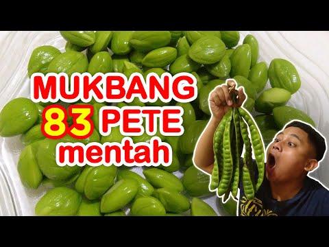 mukbang-83-biji-pete-mentah