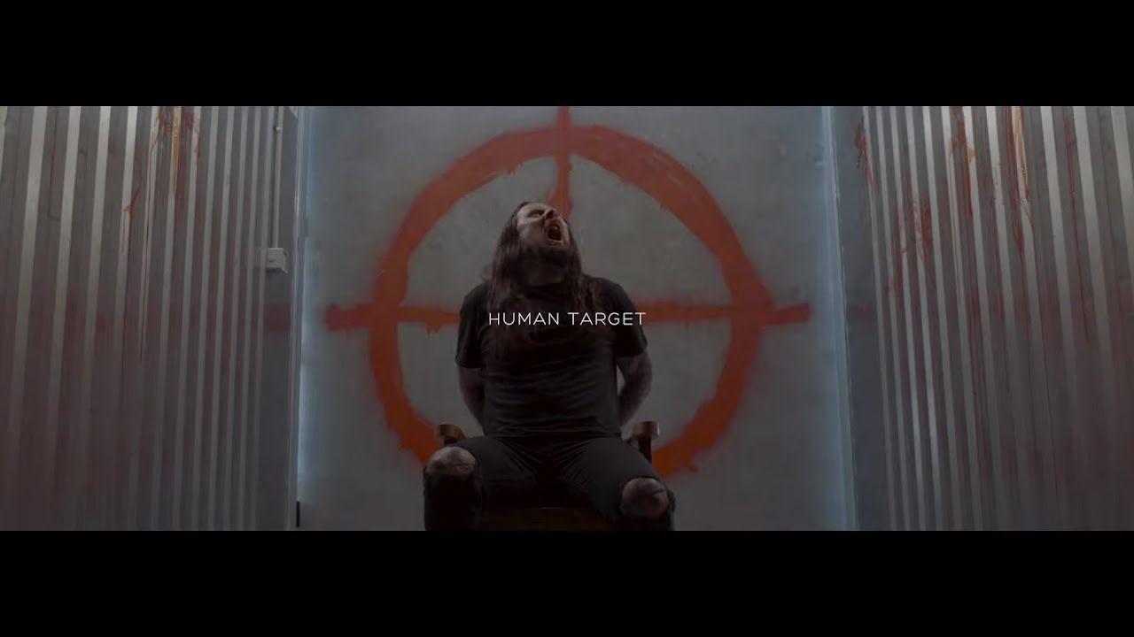 Thy Art Is Murder Human Target Official Music Video Youtube