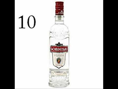 10 Najlepszych Wódek