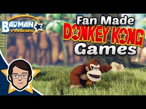 Fan Made Donkey Kong Games - Badman