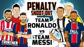 🔥Team Messi vs Team Ronaldo🔥 Penalty Shoot-Out! (Frontmen Season 2.2)