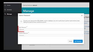 2. Set Database Administrator Password (Exadata Express) video thumbnail
