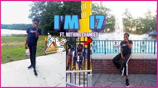 *mini* 17th birthday vlog + Six Flags