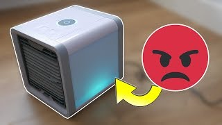 ¡No nos engañéis! Esto se anuncia como un aire acondicionado portable, pequeño y de bajo consumo