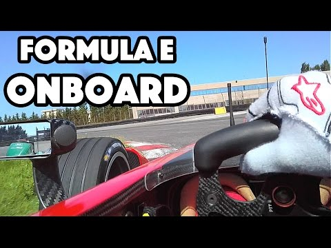 Formula E Onboard POV Adria Raceway | Daniel Abt