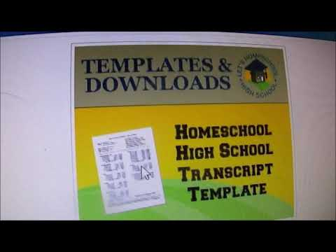 Transcripts and Diplomas for Homeschooling Students