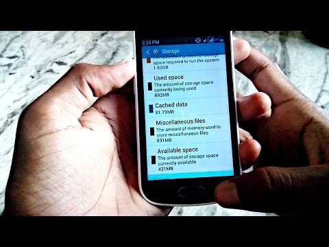 Delete unwanted storage of your android phone and delete miscellaneous files