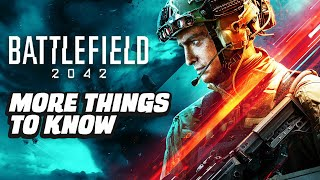 Battlefield 2042 - Even More Things To Know