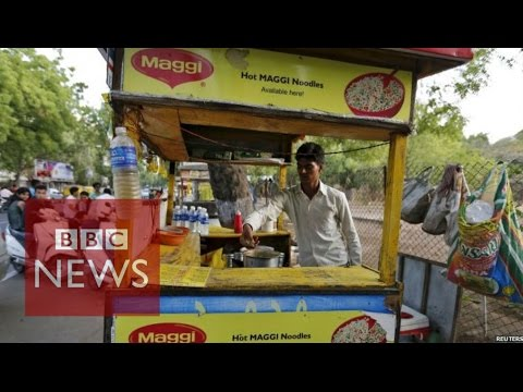 India: Maggi noodles withdrawal leads to anger - BBC News