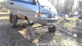Nissan Vanette przeróbka na traktor t16