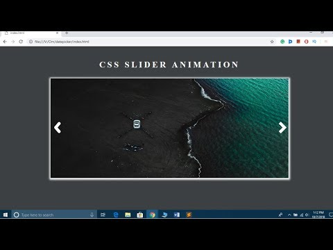 How To Create An Image Slider In HTML And CSS Step By Step | Responsive Image SlideShow Using CSS3