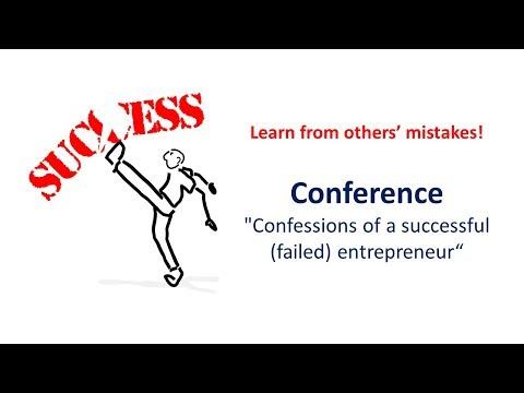 #Talk – Confessions of a successful (failed) entrepreneur