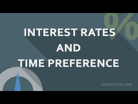 Time Preference #Interest Rates