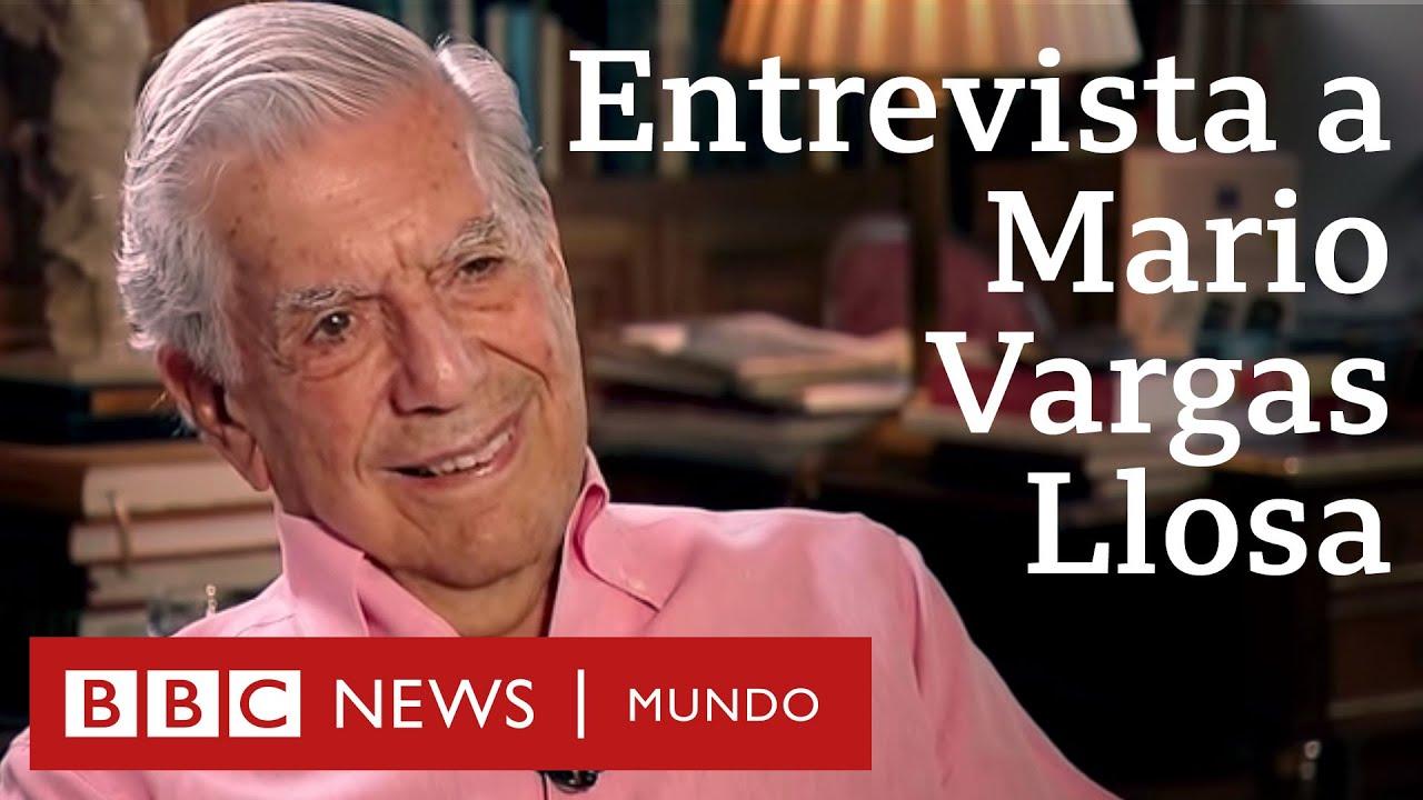 """Download Mario Vargas Llosa: """"Me gustaría que la muerte me hallara escribiendo, como un accidente"""""""